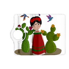 Frida Kahlo Doll Kindle Fire Hd (2013) Flip 360 Case