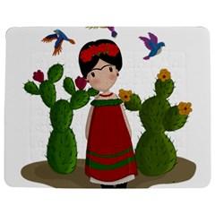 Frida Kahlo Doll Jigsaw Puzzle Photo Stand (rectangular)