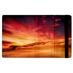 Desert Sand Dune Landscape Nature Apple Ipad 2 Flip Case