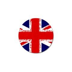 Union Jack London Flag Uk Golf Ball Marker (4 Pack)