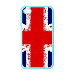 Union Jack London Flag Uk Apple Iphone 4 Case (color)