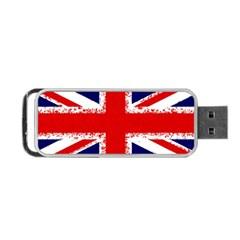 Union Jack London Flag Uk Portable Usb Flash (two Sides)