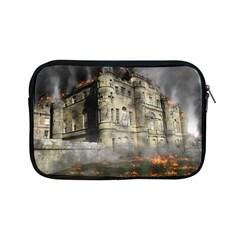 Castle Ruin Attack Destruction Apple Ipad Mini Zipper Cases