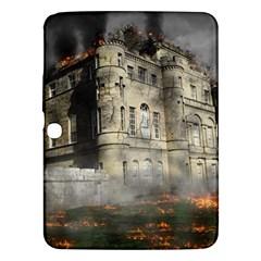 Castle Ruin Attack Destruction Samsung Galaxy Tab 3 (10 1 ) P5200 Hardshell Case