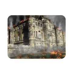 Castle Ruin Attack Destruction Double Sided Flano Blanket (mini)