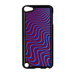 Wave Pattern Background Curves Apple Ipod Touch 5 Case (black)