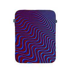 Wave Pattern Background Curves Apple Ipad 2/3/4 Protective Soft Cases