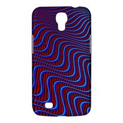Wave Pattern Background Curves Samsung Galaxy Mega 6 3  I9200 Hardshell Case