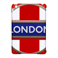 London England Apple Ipad Mini Hardshell Case (compatible With Smart Cover)