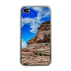 Mountain Canyon Landscape Nature Apple Iphone 4 Case (clear)