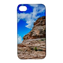 Mountain Canyon Landscape Nature Apple Iphone 4/4s Hardshell Case With Stand