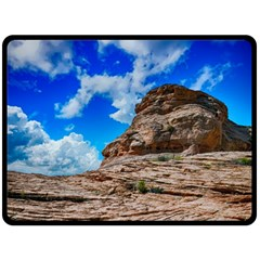 Mountain Canyon Landscape Nature Double Sided Fleece Blanket (large)