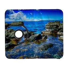 Shoreline Sea Coast Beach Ocean Galaxy S3 (flip/folio)