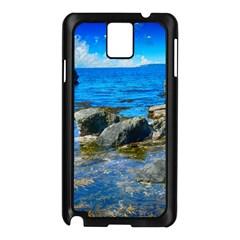 Shoreline Sea Coast Beach Ocean Samsung Galaxy Note 3 N9005 Case (black)