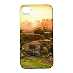 Rocks Outcrop Landscape Formation Apple Iphone 4/4s Hardshell Case With Stand