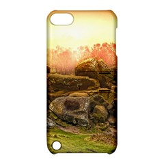 Rocks Outcrop Landscape Formation Apple Ipod Touch 5 Hardshell Case With Stand