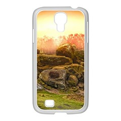 Rocks Outcrop Landscape Formation Samsung Galaxy S4 I9500/ I9505 Case (white)