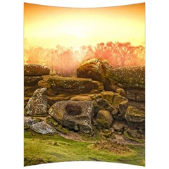 Rocks Outcrop Landscape Formation Back Support Cushion