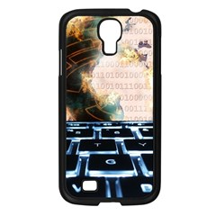 Ransomware Cyber Crime Security Samsung Galaxy S4 I9500/ I9505 Case (black)