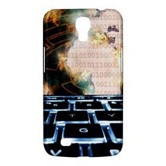 Ransomware Cyber Crime Security Samsung Galaxy Mega 6 3  I9200 Hardshell Case