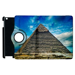 Pyramid Egypt Ancient Giza Apple Ipad 2 Flip 360 Case