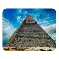 Pyramid Egypt Ancient Giza Double Sided Flano Blanket (large)