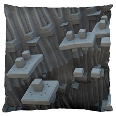 Backdrop Pattern Surface Texture Large Cushion Case (one Side)