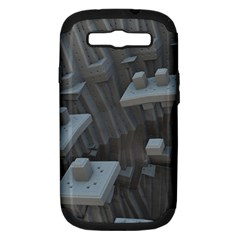 Backdrop Pattern Surface Texture Samsung Galaxy S Iii Hardshell Case (pc+silicone)