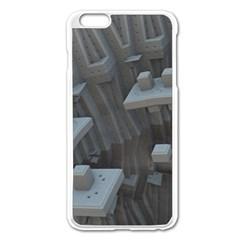 Backdrop Pattern Surface Texture Apple Iphone 6 Plus/6s Plus Enamel White Case