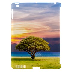 Tree Sea Grass Nature Ocean Apple Ipad 3/4 Hardshell Case (compatible With Smart Cover)