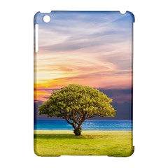 Tree Sea Grass Nature Ocean Apple Ipad Mini Hardshell Case (compatible With Smart Cover)