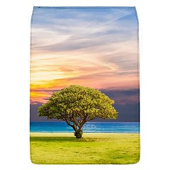 Tree Sea Grass Nature Ocean Flap Covers (l)
