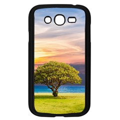 Tree Sea Grass Nature Ocean Samsung Galaxy Grand Duos I9082 Case (black)