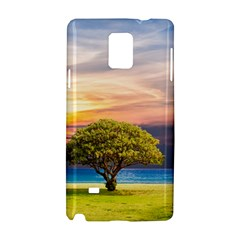 Tree Sea Grass Nature Ocean Samsung Galaxy Note 4 Hardshell Case