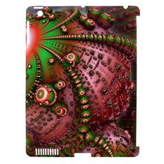 Fractal Symmetry Math Visualization Apple Ipad 3/4 Hardshell Case (compatible With Smart Cover)