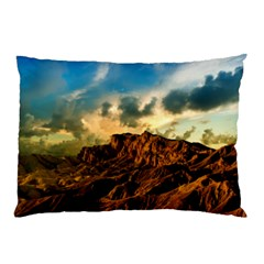 Mountain Sky Landscape Nature Pillow Case (two Sides)