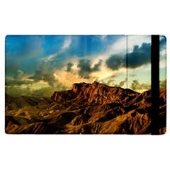 Mountain Sky Landscape Nature Apple Ipad 3/4 Flip Case