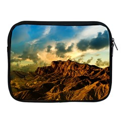 Mountain Sky Landscape Nature Apple Ipad 2/3/4 Zipper Cases
