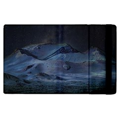 Landscape Night Lunar Sky Scene Apple Ipad 2 Flip Case
