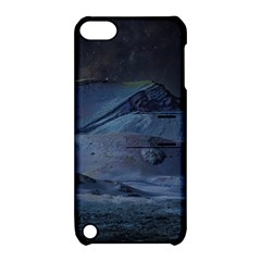 Landscape Night Lunar Sky Scene Apple Ipod Touch 5 Hardshell Case With Stand