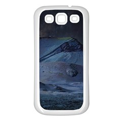 Landscape Night Lunar Sky Scene Samsung Galaxy S3 Back Case (white)