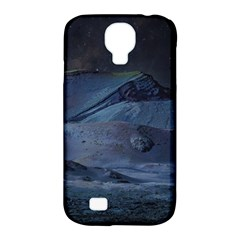 Landscape Night Lunar Sky Scene Samsung Galaxy S4 Classic Hardshell Case (pc+silicone)