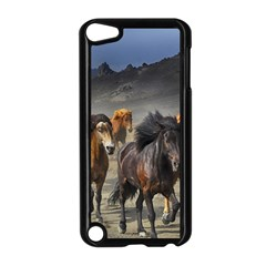 Horses Stampede Nature Running Apple Ipod Touch 5 Case (black)