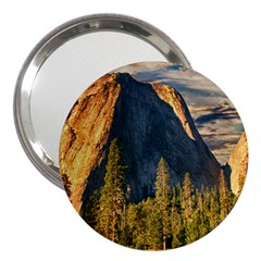 Mountains Landscape Rock Forest 3  Handbag Mirrors