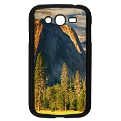 Mountains Landscape Rock Forest Samsung Galaxy Grand Duos I9082 Case (black)