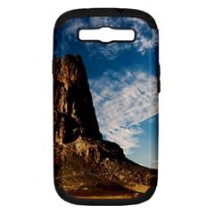 Mountain Desert Landscape Nature Samsung Galaxy S Iii Hardshell Case (pc+silicone)
