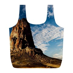 Mountain Desert Landscape Nature Full Print Recycle Bags (l)
