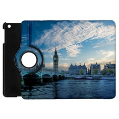 London Westminster Landmark England Apple Ipad Mini Flip 360 Case