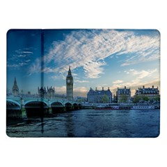 London Westminster Landmark England Samsung Galaxy Tab 10 1  P7500 Flip Case