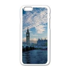 London Westminster Landmark England Apple Iphone 6/6s White Enamel Case